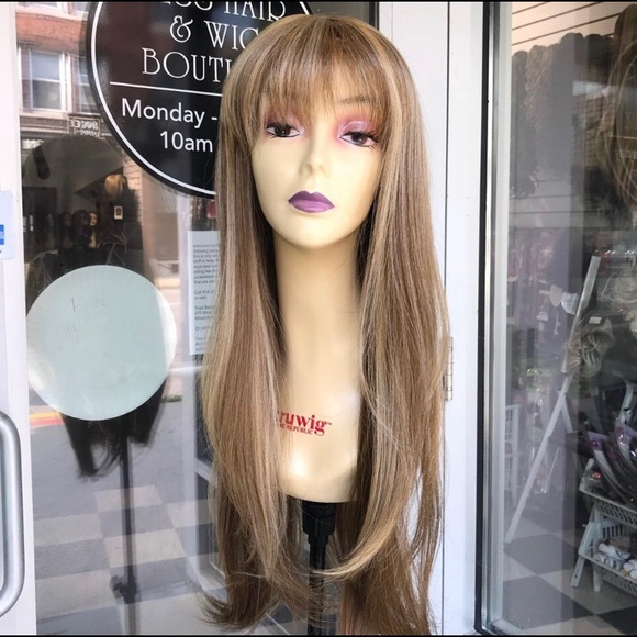 Accessories - Blonde long bangs wig brand new wig